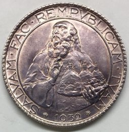 San Marino - 20 lire 1932 Roma