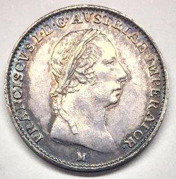 Lombardo Veneto - 1/2 lira 1823 M