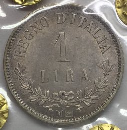 Vittorio Emanuele II - 1 Lira 1863 ...