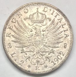 Vittorio Emanuele III - 2 lire ...