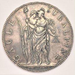 Repubblica Subalpina - 5 Franchi ...
