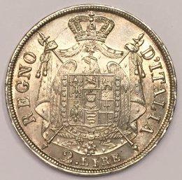 Napoleone I - 2 lire 1813 Venezia ...