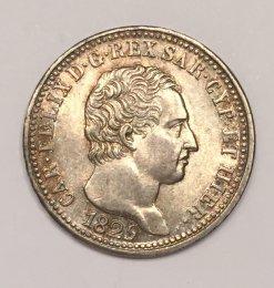Carlo Felice - 1 Lira 1825 Torino ...
