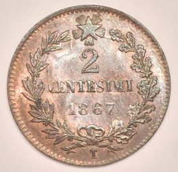 Vittorio Emanuele II - 2 Centesimi ...