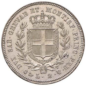 CARLO ALBERTO (1831-1849) - 2 Lire ...
