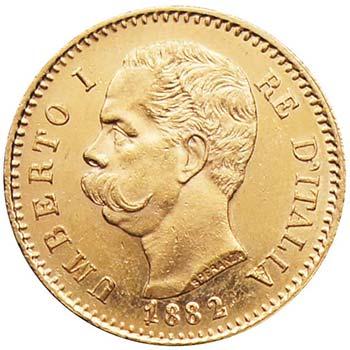 Umberto I (1878-1900) - 20 Lire ...