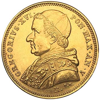 Gregorio XVI – Roma (1831-1846) ...