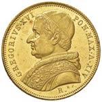 10 Scudi 1844 Roma anno XIV - Gig. ...
