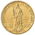 100 Lire 1937 Roma - Gig. 9 - RRR