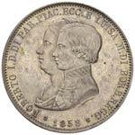 Roberto I di Borbone - 5 Lire 1858 ...