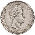 2 Lire 1844 Genova - Gig. 105 ...