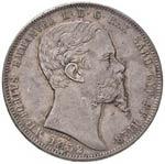 5 Lire 1852 Genova - Gig. 34 - R